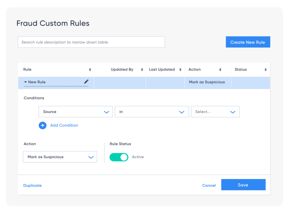 mobile attribution platform Fraud custom rules