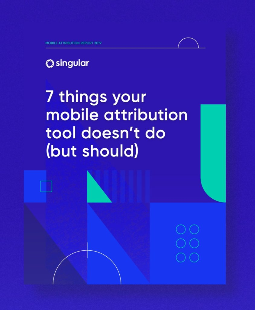 mobile app attribution report
